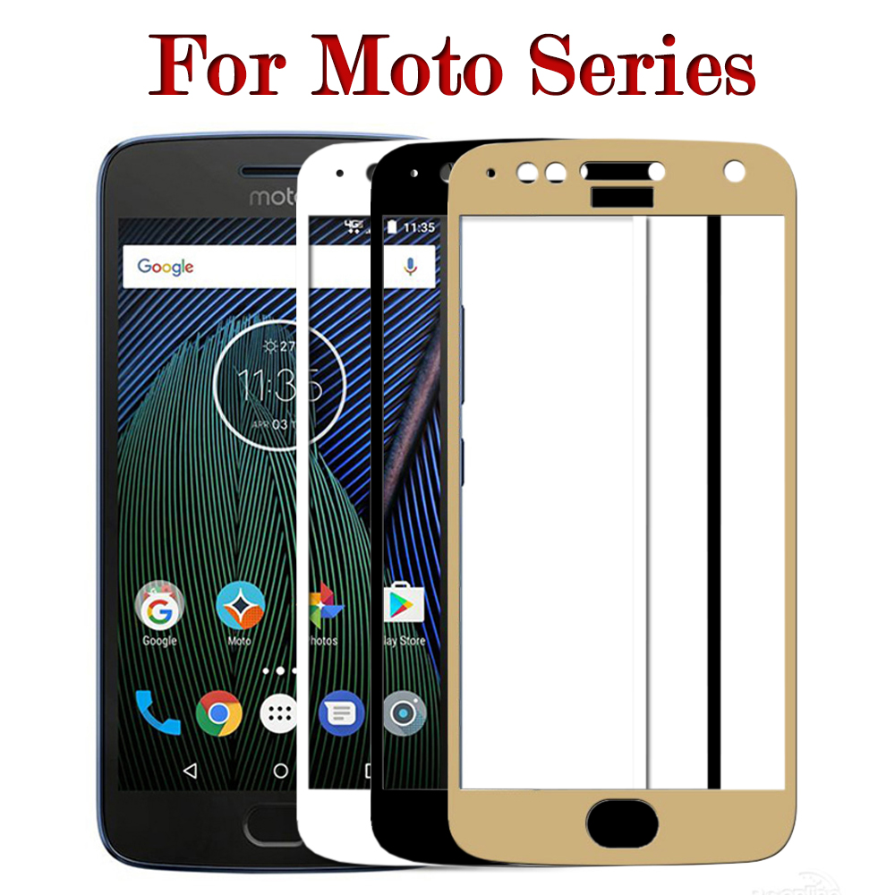 For Moto G5s Plus Screen Protector For Moto E4 Plus Tempered Glass G5 s Protective Film Full Cover Protection Glas Protect 9H