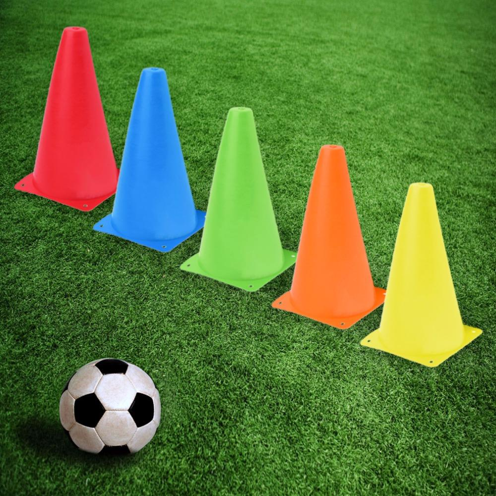 HW2016 NEW arrival  10pcs Training Cones Sports Traffic Safety Soccer Football Bright Cone Lot oras solina 1992f