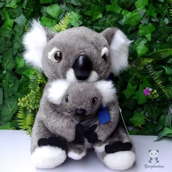 Koala bear  doll plush kids toys  mother and baby