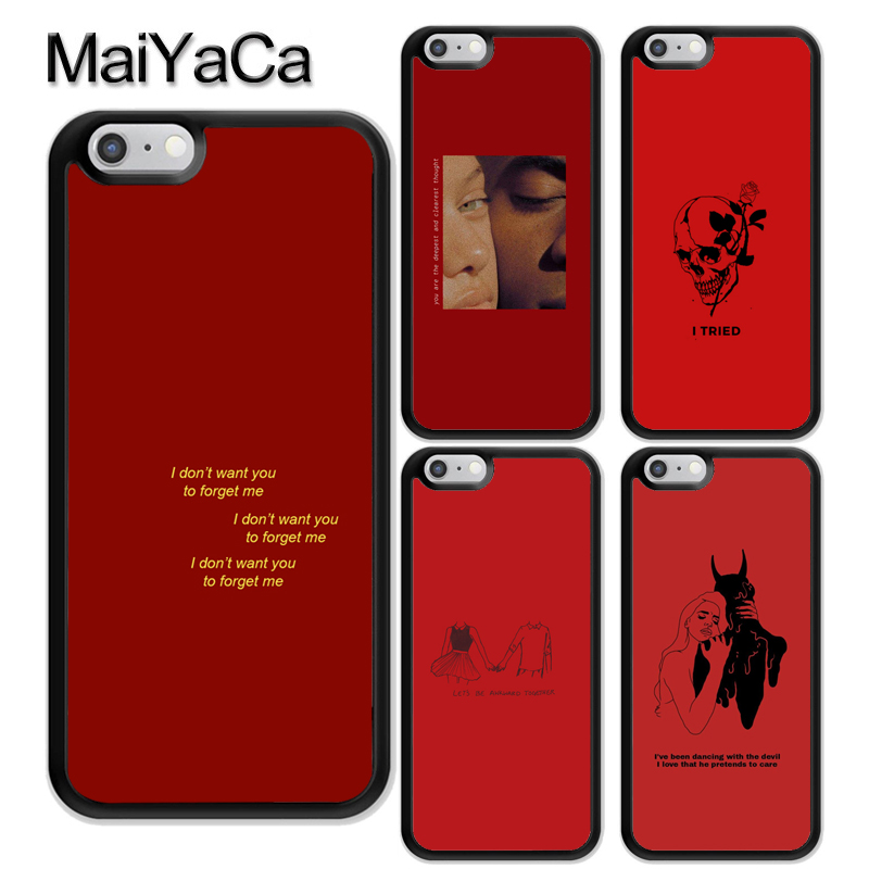 Maiyaca Troye Sivan Design Novelty Fundas Phone Case Cover For Apple Iphone 8 7 6 6s Plus X Xs Max 5 5s Se Xr Cover Half-wrapped Case