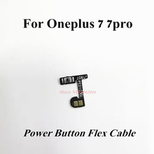 2pcs Original Power buttons Flex Cable For Oneplus 7/7 Pro ON OFF Key Replacement part