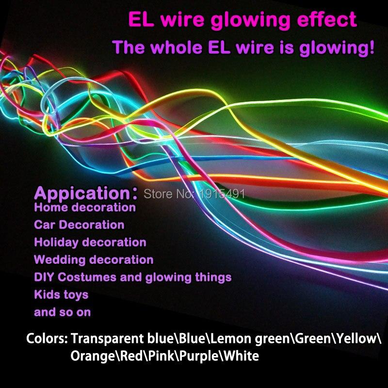 2 Meter Flexible Neon Led streifen Lichter Orange 2,3mm Rock El ...