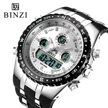Digital-Watch Electronic Sports Luxury Relogio Masculino LED for Men