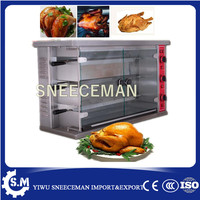 Industrial Glass door electric Stove with Grill and Rotary Oven For sale