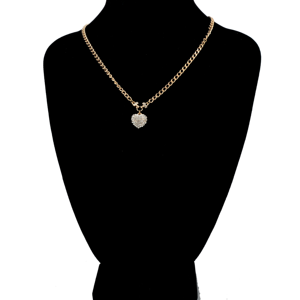 31f8c7ed32e9 Alta calidad oro color acero inoxidable estetoscopio colgante collar  corazón doctor enfermera Médicos para mujeres collar