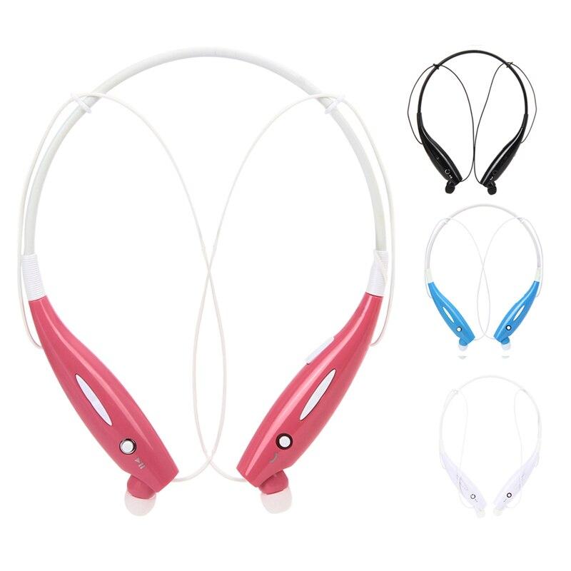 2016 New Promotion 4 color Ear Hook HBS-730 Wireless Bluetooth HandsFree Sport Stereo Headset Headphone L3EF