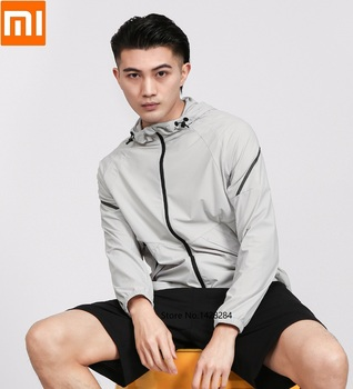 Xiaomi Ulemark men's high stretch lightweight sports jacket Reflective design Casual breathable Comfortable Sportswear