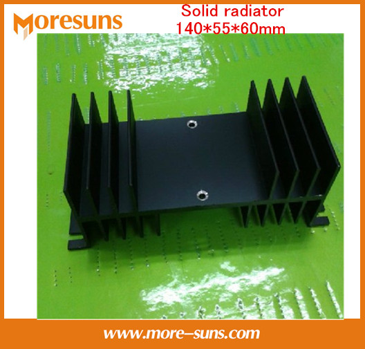 Fast Free Ship 2pcs/lot Wholesale aluminum radiator/Solid radiator 140*55*60mm Custom heatsink fast free ship 1set contains 2pcs for atmega16 nrf905 cc1100 nrf24l01 nrf2401a wireless development board