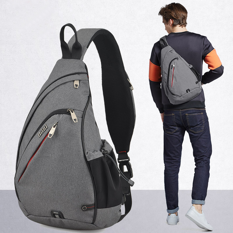 Mixi Men One Shoulder Backpack Bag Boys Work Travel Versatile Fashion Bag Student School University 2019 New Design(China)