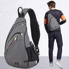 Mixi Men One Shoulder Backpack Bag Boys Work Travel Versatil
