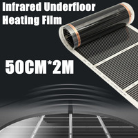 One Square Meter Floor Heating Film No Accessories AC220V Far Infrared Heating Film 50cm X 2m