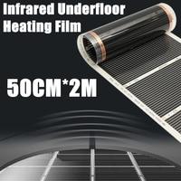 One Square Meter Floor Heating Film No Accessories AC220V Far Infrared Heating Film 50cm X 2m