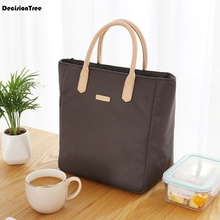 Outdoor Large Capacity Lunch Bag Picnic Totes Storage Carry Case Cooler Insulated 2019 Container Oxford Cloth 40