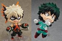 Hot Nendoroid 686 # 705 # My Hero Academia Boku no Hero Izuku Midoriya Katsuki Bakugo Hero`s Edition Action Figure Toys