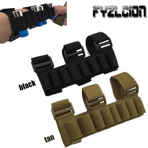 New Tactics 8 Round Gun Shell Detachable Arm Ammo Bag 1000D Nylon Lightweight Arm with Elastic Ammunition Bag for Hunting Game