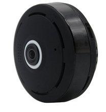 Черный 2.0 МП V380 HD 1920*1080 P VR WI-FI IP Камера Поддержка Max 64 г TF карты, P2P двухстороннее аудио IR 360 градусов IP Cam Wi-Fi P2P