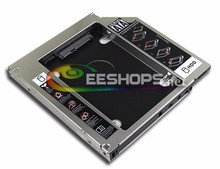 New for HP Elitebook 8440w 8560w 8560p 8570p Laptop 2nd HDD SSD Caddy Second Hard Disk Enclosure DVD Optical Drive Bay Case