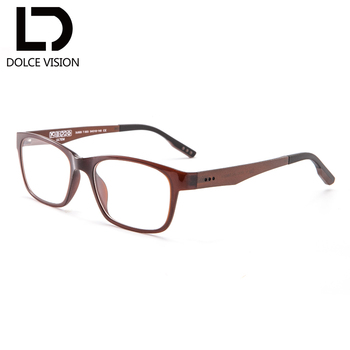 DOLCE VISION ULTEM Rectangle Diopter Glasses Men With Photochromic Lenses Classic Designer Spectacles Optical gafas de hombre
