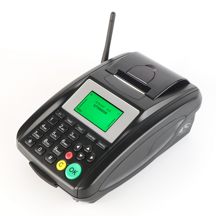 Goodcom GT5000SW Wireless Pos Terminal GSM GPRS WIFI Card Swipe Machine