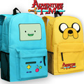 3 Colors Cute Cartoon Adventure Time Backpack  Finn and Jake Oxford School Bags 45*29*13cm Kids Casual bag Children Gifts