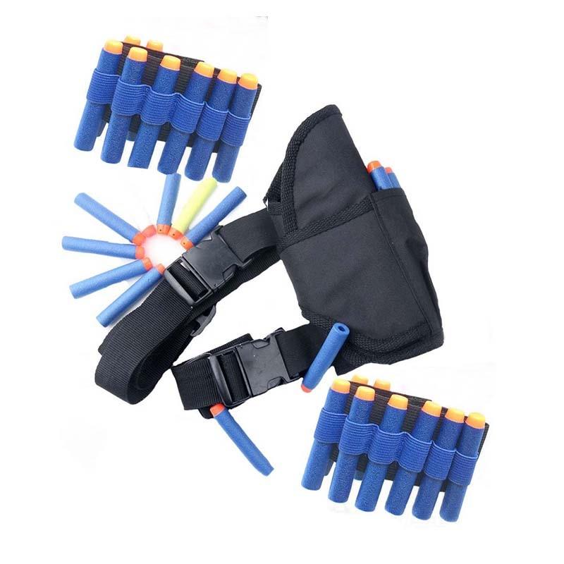 Солнце и облако 23 шт./компл. 1 шт. поясная сумка + 2 предмета wriste + 20 шт. синий Дартс для игрушечный пистолет элитная Серия