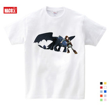 Pocket Toothless T-shirt Men Cute Tops How To Train Your Dragon Cartoon Tees T Shirt Summer Grey Clothes Cotton Tshirt