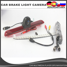CCD Car Brake Light Camera HD Rear View Reverse for For Mercedes Benz Sprinter Volkswagen VW Crafter Backup