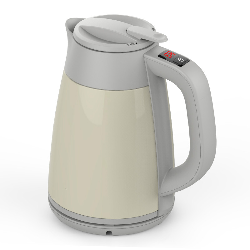 Electric kettle/electric kettle 304 stainless steel double vacuum insulated and hot home stainless steel insulated vacuum mug silver 350ml