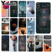 Yinuoda I like basketball Custom Photo Soft Phone Case for iPhone 8 7 6 6S Plus 5 5S SE XR X XS MAX Coque Shell цены
