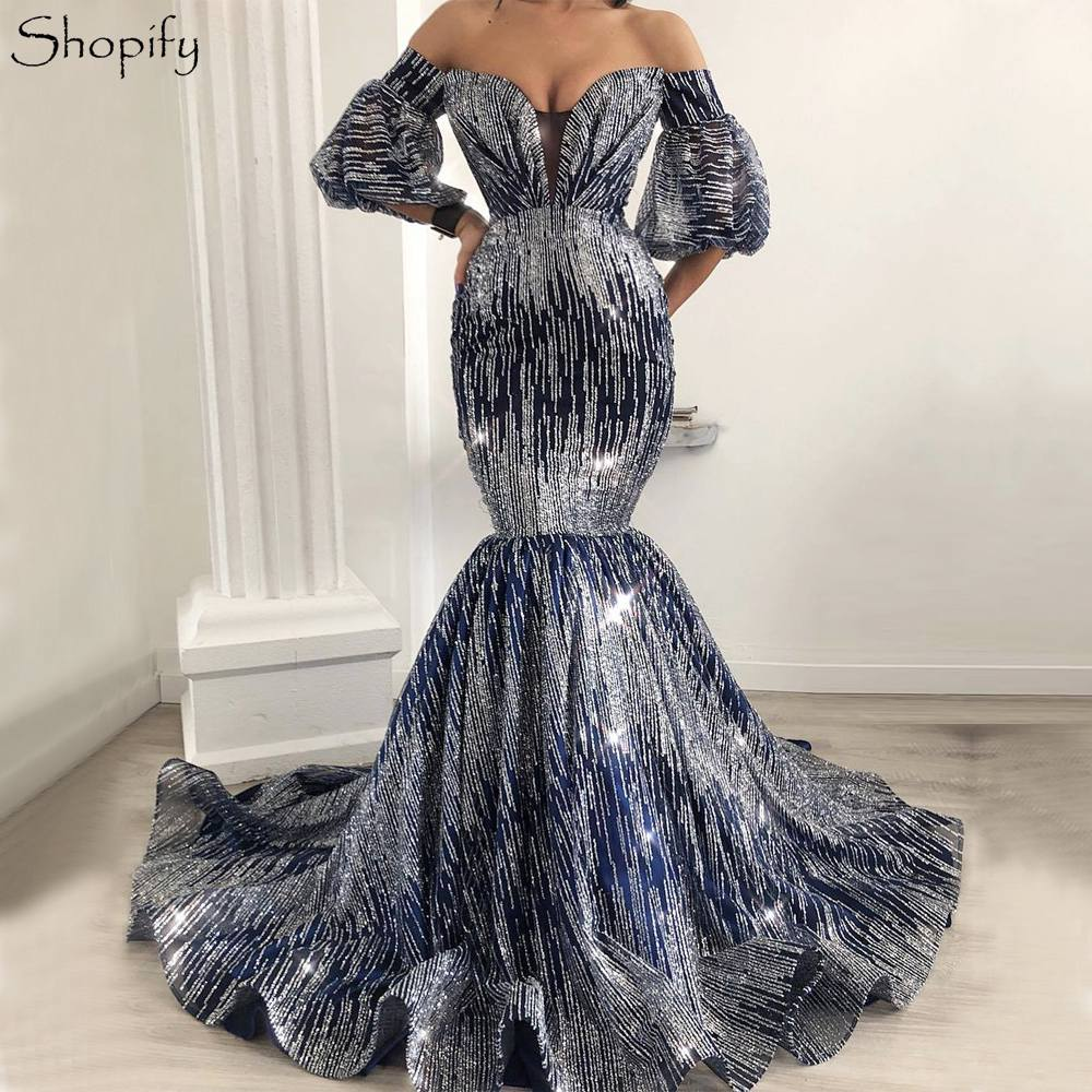 1ae74b39ee ∞ Big promotion for robe de soiree mermaid navy blue and get free ...