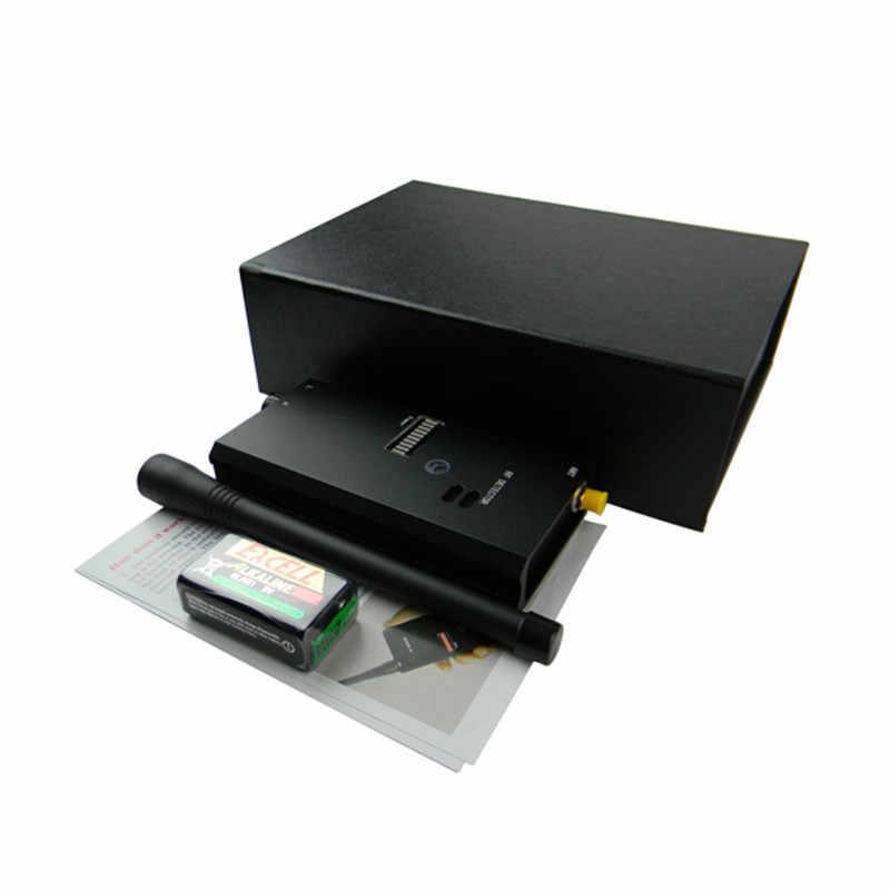 Металлический беспроводной провод детектор жучков RF видео и аудио сигнал детектор черный RF металлоискатель Для govermant и полиции 007A