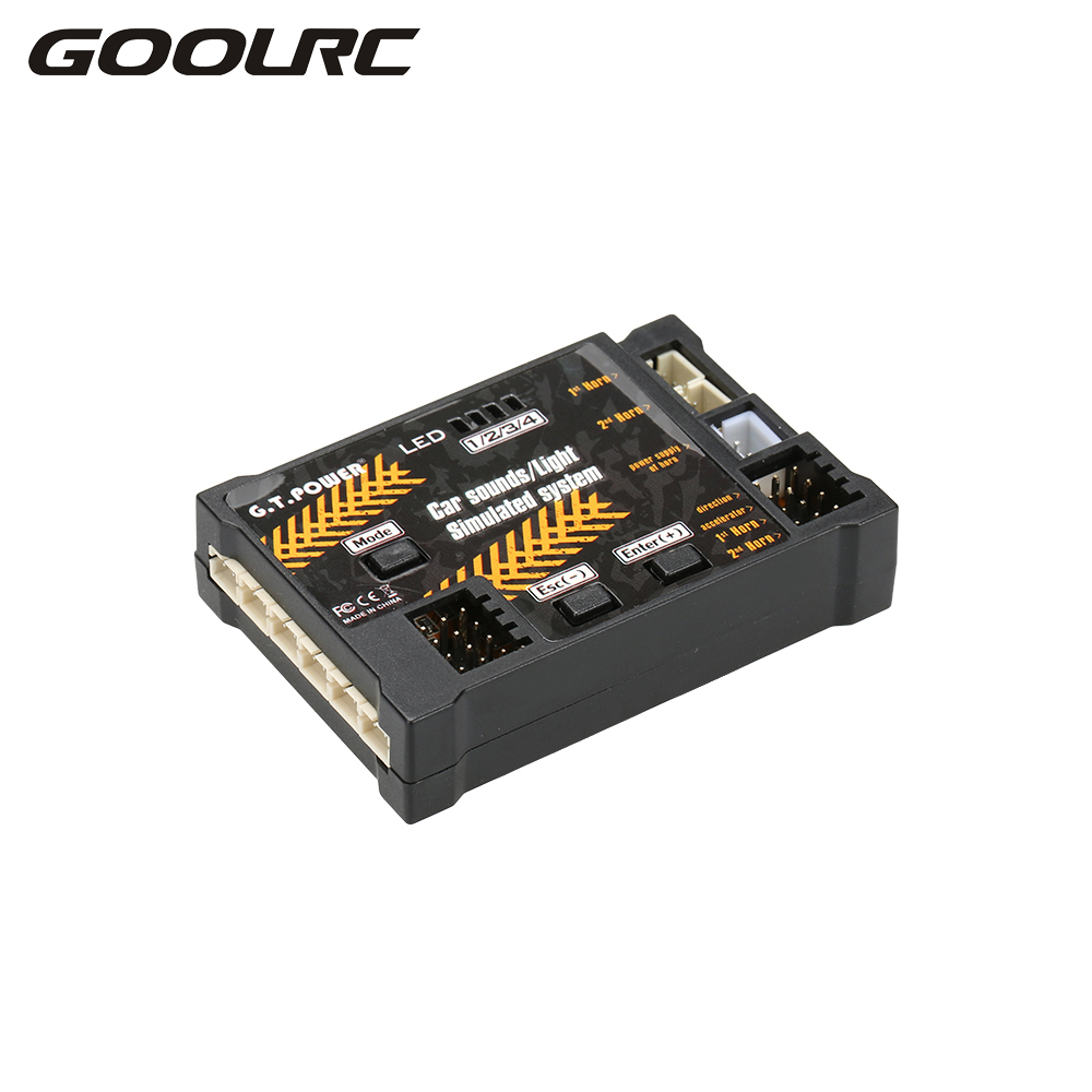 GOOLRC for RC Car Sounds / Light Simulated System for Road Grader Climbing Car SUV Truck RC Cars Part Accessories Electronics цена