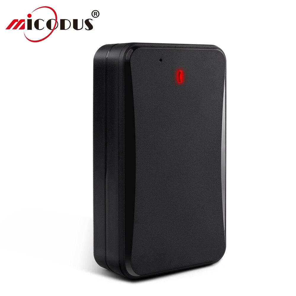 Fort aimant GPS Tracker voiture 3G longue durée veille GPS localisateur en temps réel suivi IPX5 étanche AT4U 10000 mAh moniteur vocal