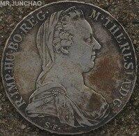 Austria Coins 1780 Maria Teresa 90% Silver Real Original Coin High Quality