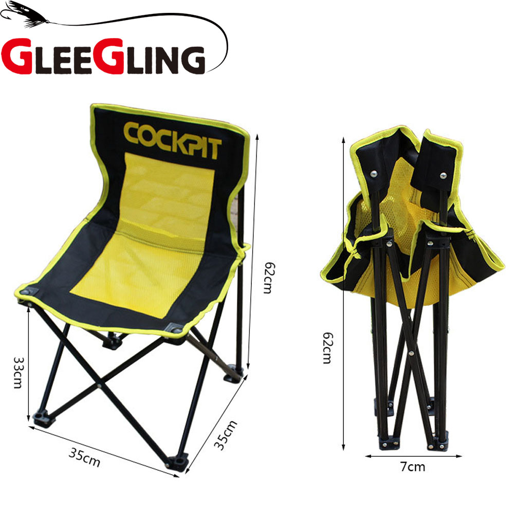 GLEEGLING FLC09 Chair Camping Lightweight Modern Outdoor Picnic Fishing Chairs for Garde ...