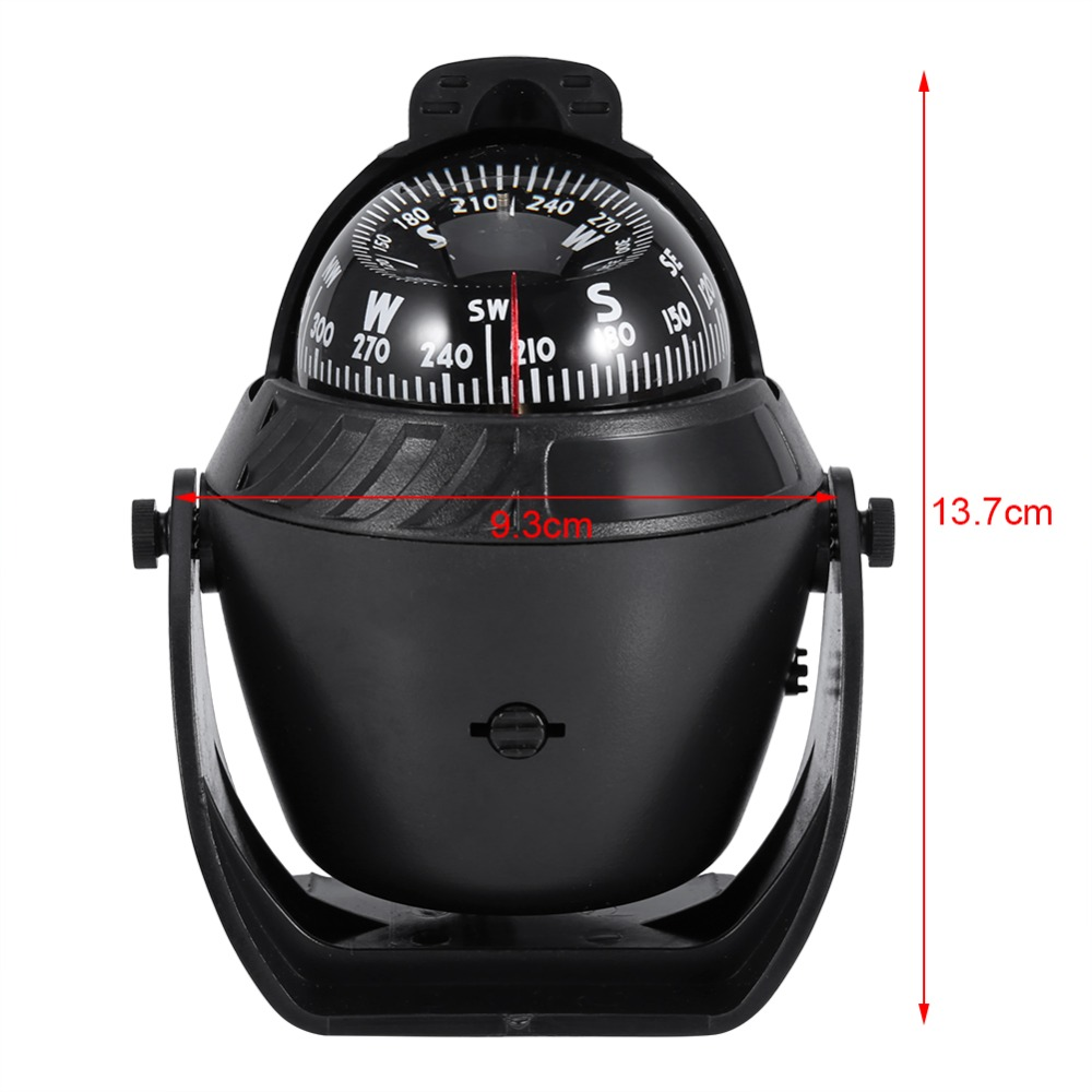 Marine Led Light Compass For Sail Ship Vehicle Boat Car Indicator White Black Numerous In Variety Automobiles & Motorcycles