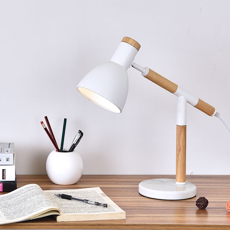 Korean small bedroom bedside table features of modern creative fashion American LED Nordic warm bedside lampKorean small bedroom bedside table features of modern creative fashion American LED Nordic warm bedside lamp
