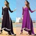 Этнический Стиль Мусульманское платье абая Турецкий женская одежда исламская одежда для женщин джилбаба одеяние мусульманского Тонкие платья vestidos