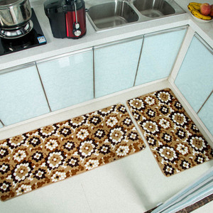Image 5 - 2PCS ครัวโมเดิร์น doormat Anti SLIP KITCHEN พรมระเบียงห้องน้ำพรมชุดเสื่อดูดซับน้ำ tapete
