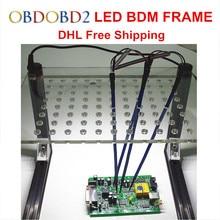 Más nuevo LED Marco de BDM Con 4 Sonda Bolígrafos Conjunto Completo Para KESS V2 V54 FG TECH KTAG K-TAG BDM100 Auto ECU Chip Tuning Herramienta Libre de DHL