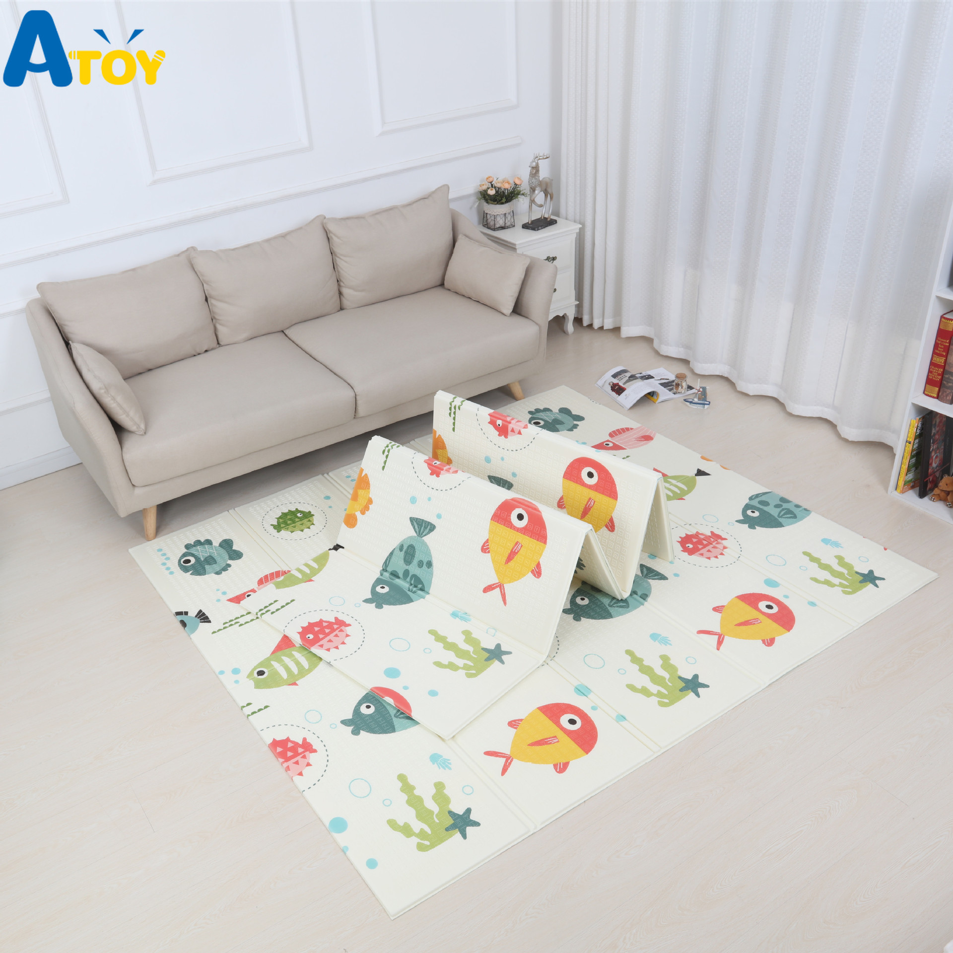 XPE Baby Infant Folding Playmat Baby 2-sided Mat Kids Rug Foam Baby Gym Thick Resin Soft Room Crawling Pad Carpet Toddler ToysXPE Baby Infant Folding Playmat Baby 2-sided Mat Kids Rug Foam Baby Gym Thick Resin Soft Room Crawling Pad Carpet Toddler Toys