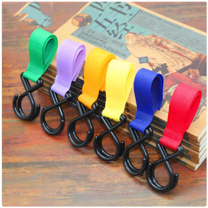 1 ชิ้นพลาสติก Magic Stick อุปกรณ์รถเข็นเด็กทารก Hook Pram Pushchair Hanger แขวนรถเข็นเด็ก Hook สีสุ่ม