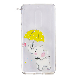 Cute Unicorn Phone Case sFor Celular Nokia 5 Soft Silicone Phone Case Telefon Quotes Messages Flip Case For Nokia 5 Case Iphone 4
