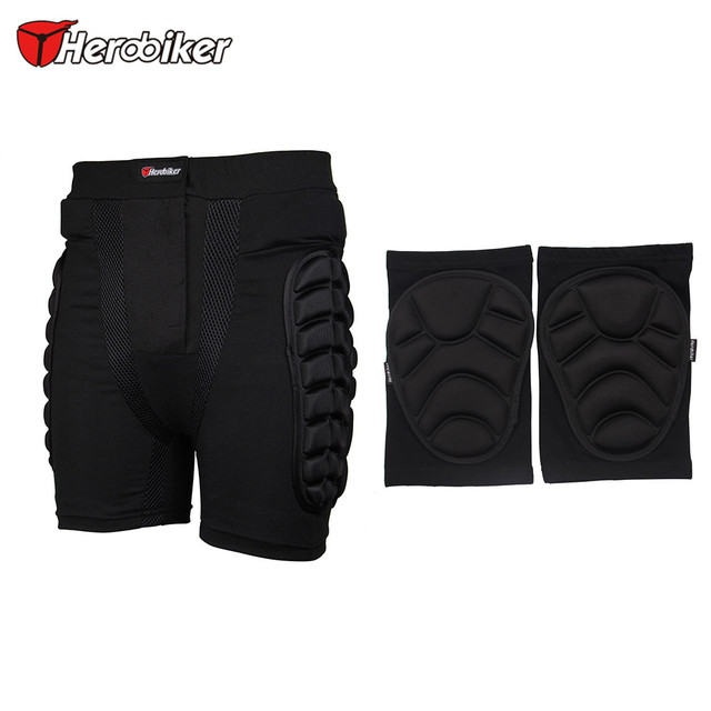 Winter Sports Skiing Short Pants Hip Protector Ski Snow Skate Protection Shorts Motorcycle Bicycle Protective Pants & Knee Pads
