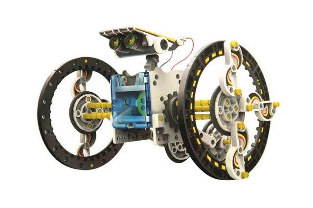 13 In 1 Educational Solar Robot Kit  3