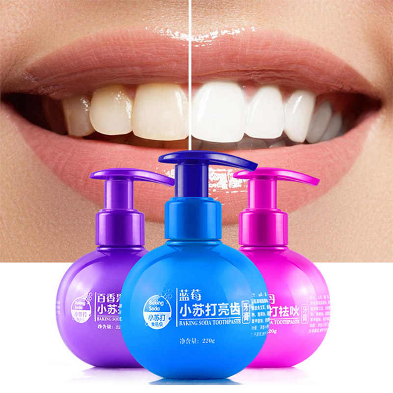 NEW Intensive Stain Removal Whitening Toothpaste Fight Bleeding Gums