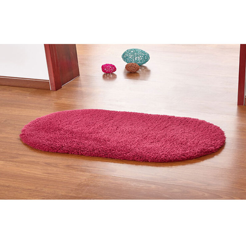 aliexpresscom buy fashion design 2016 hot sale living room carpet nine colors bath mat soft touch high qulity oval bathroom carpet from reliable carpet - Magenta Bathroom 2016
