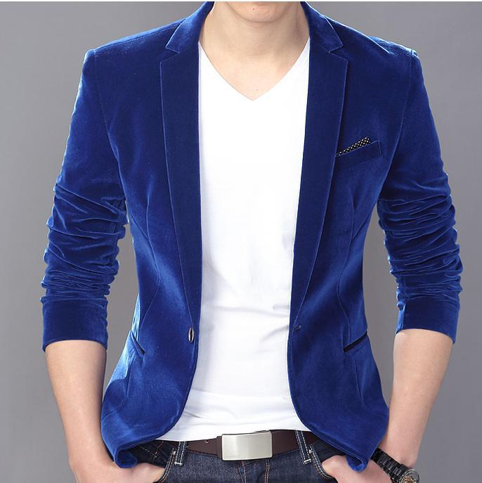 suit hooded jacket Picture - More Detailed Picture about Blue Gold ...