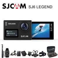 SJCAM SJ6 Легенда экшн камера Спорт DV Wi Fi Notavek 96660 4 К 24fps Ultra HD Водонепроницаемый 2.0 Дюймов Сенсорный Экран Оригинальный SJ Cam Действий Камеры