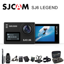 SJCAM SJ6 Legend Action Camera Sports DV Wifi Notavek 96660 4K 24fps Ultra HD Waterproof 2.0 Inch Touch Screen Original SJ Cam